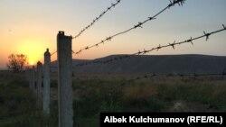 Граница в Баткенской области. Иллюстративное фото.