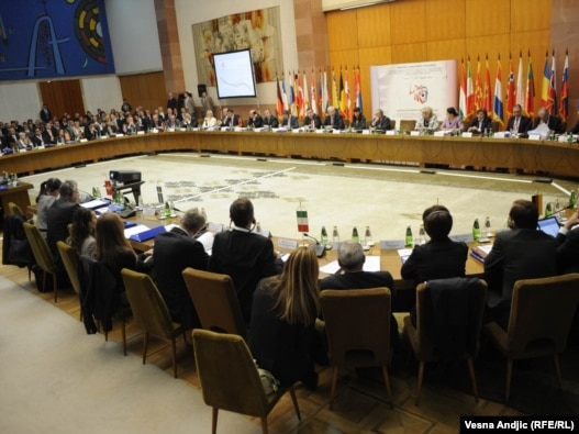 Ministarska konferencina o borbi protiv organizovanog kriminala, Beograd 3. oktobar 2010.