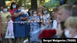 День знань у школі села Костянтинівка Сімферопольського району, 1 вересня 2020 року