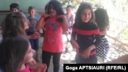 ბავშვები ერგნეთის ბანაკში