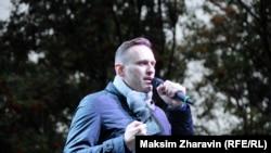 Алексей Навальный на встрече с избирателями в Мурманске