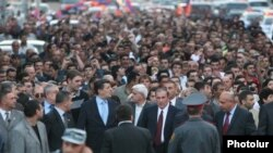 Yerevanda müxalifətin yürüşü, 15 may 2009