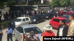 Protest u Prištini, 24. maj 2016.