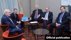 Встреча главы МИД Армении с сопредседателями Минской группы ОБСЕ, Братислава, 4 декабря 2019 г.