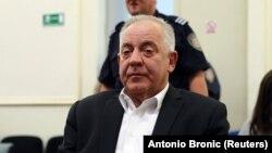 Ivo Sanader na izricanju prvostupanjske presude, Zagreb