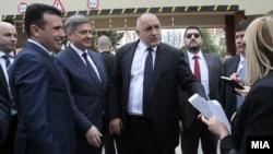 Премиерите на Македонија и на Бугарија, Зоран Заев и Бојко Борисов.