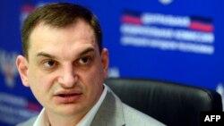 Роман Лягін, який називає себе «головою ЦВК» угруповання «ДНР», архівне фото