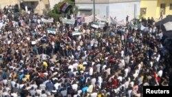 Протести во Сирија.