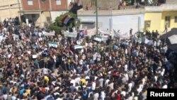 Анти-владини демонстрации во Сирија