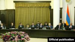 Заседание правительства Армении, Ереван, 26 декабря 2019 г.
