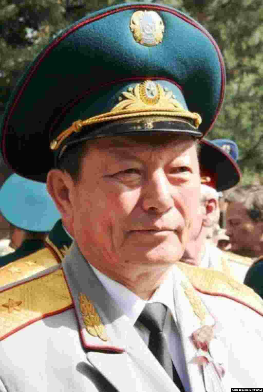 Генерал-майор КНБ Турсун Айжулов.