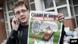 Обложка французского сатирического журнала Charlie Hebdo