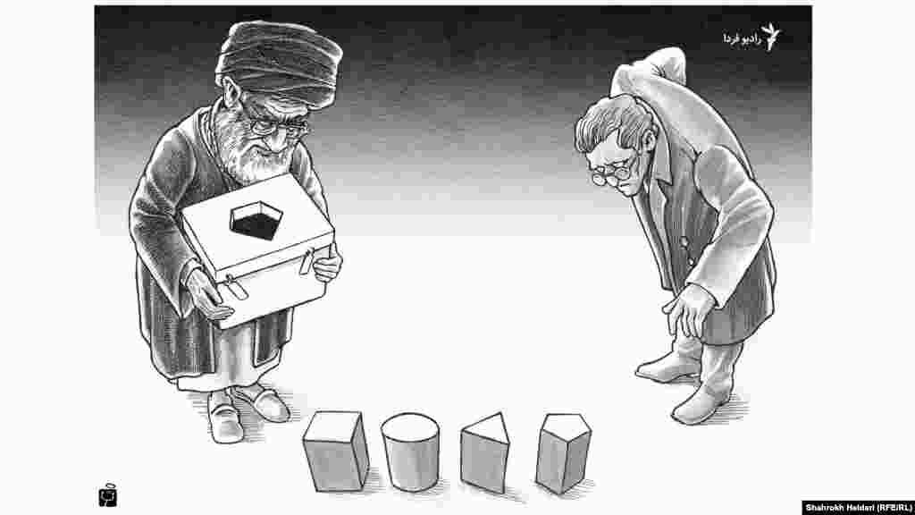 انتخابات دمکراتیک شاهرخ حیدری