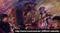 Aksak Maboul peinture (http://www.crammed.be).