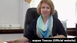 Вице-мэр Томска Анна Подгорная