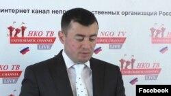 """Правозащитник и основатель интернет-канала """"НКО-ТВ"""" Темур Кобалия"""