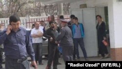 Tajikistan, meeting, Dushanbe 09.03.2016
