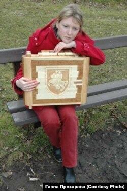 Патрыятычны куфар ад бацькі-сталяра