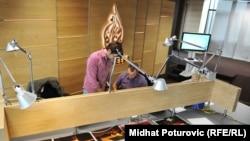 """""""Aл-Жазиира"""" каналынын Сараево шаарындагы студиясы, 10-ноябрь, 2011"""