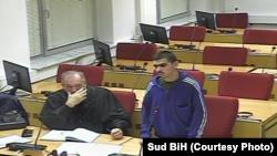 Hamza Labidi osumnjičen za sudjelovanje u stranoj terorističkoj organizaciji na ročištu na Sudu BiH 19. decembra 2019.