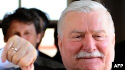 It seems former Solidarity leader Lech Walesa couldn't make it.