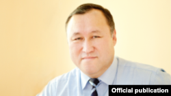 Председатель ГИК Бактыбек Шамкеев.