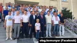 Берислав, конференція, присвячена відродженню Федерації футболу Криму