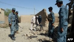 Авганистански полицајци.