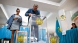 Kazakhstan - Almaty. Presidential election, voters. Almaty. 9Jun2019
