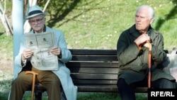 Penzioneri u jednom od beogradskih parkova - ilustrativna fotografija, Autor: Vesna Anđić