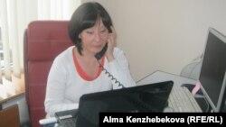 """Сауле Ахмедина, директор кастинг-агентства """"Аврора"""". Алматы, 10 декабря 2013 года."""