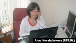 «Аврора» кастинг-агенттігі директоры Сәуле Ахмедина. 10 желтоқсан 2013 жыл.