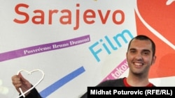 "Bosnia and Herzegovina - Nikola Lezaic, director, won the main prize of Sarajevo Film Festival (SFF), ""Hearth of Sarajevo"", 31Jul2010"