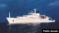 Океанографічний корабель USNS Bowditch, який здійснював дослідження Південно-Китайського моря