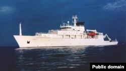 Океанографический корабль USNS Bowditch, который проводил иследования в Южно-Китайском море