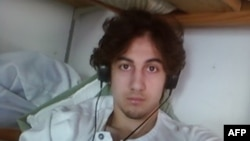 Dzhokhar Tsarnaev was sentenced to death in 2015 just over two years after he and his brother set off bombs near the Boston Marathon's finish line, killing three people. (file photo)