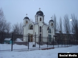 Грекокатолический храм в Донецке