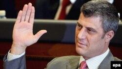 novoizabrani premijer Kosova Hašim Tači