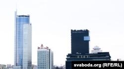 Хмарачосы ў Менску
