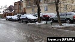 Гололед в Севастополе, 16 января 2019 год