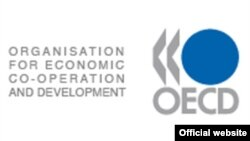 Логото на Организацијата за економска соработка и развој.