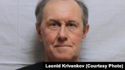 Леонид Кривенков после избиения: нос деформирован и смещен, щека опухла
