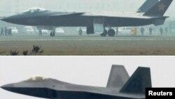 جنگنده رادارگریز جی۲۰ چین