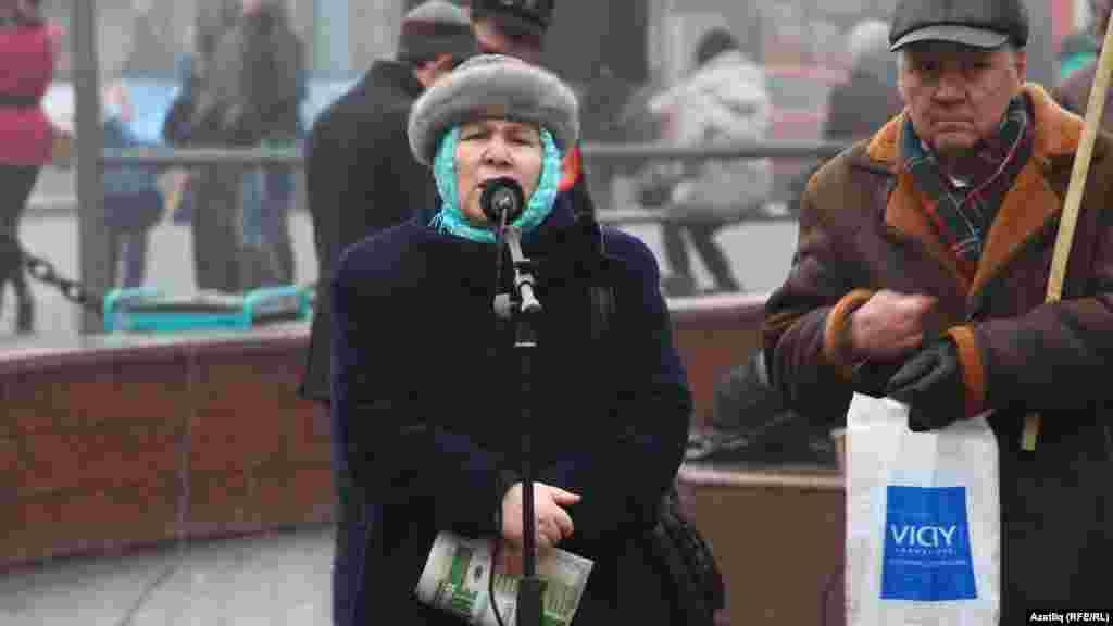 Язучы, җәмәгать эшлеклесе Фәүзия Бәйрәмова