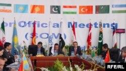 افتتاحیه اجلاس وزرای اکو در هرات افغانستان در سال ۲۰۰۷