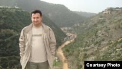 Iraq -- Photo of Baghdad bureau Chief of Radio Free Iraq Mohammad Bdiwi Owaid Al-Shammari, undated