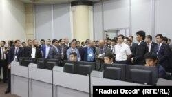 Орталық Азия қор биржасының кеңсесі. Душанбе, 12 қазан 2015 жыл