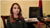 Լիլիթ Մակունցը զրուցում է «Ազատության» լրագրողի հետ, 24-ը մայիսի, 2019 թ.