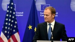 претседателот на Европскиот совет Доналд Туск