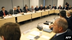 Kosovo -- troika, Serbia, Kosovo meeting 28Sep2007
